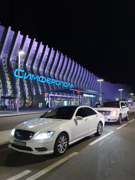 Мercedes S-class W221 Long AMG пакет