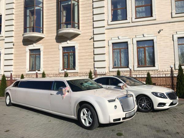 Лимузин в стиле Rolls Royce